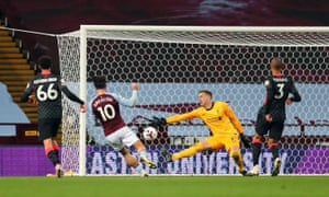 Aston Villa's Jack Gryllis scored his seventh goal