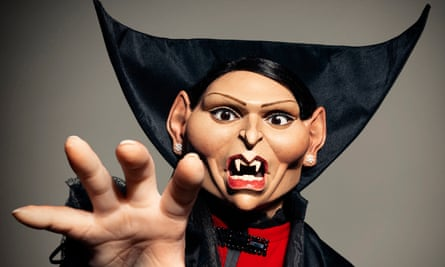 Preeti Patel Spitting Image Puppet