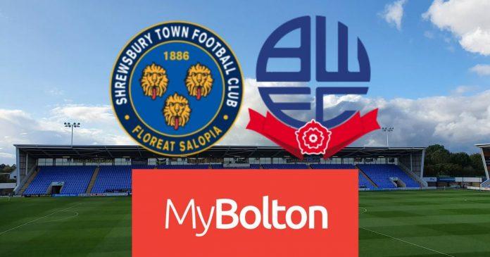 Shrewsbury Town 2-1 Bolton Wanderers Live: Ian Iwat's post-match reaction after EFL Trophy defeat