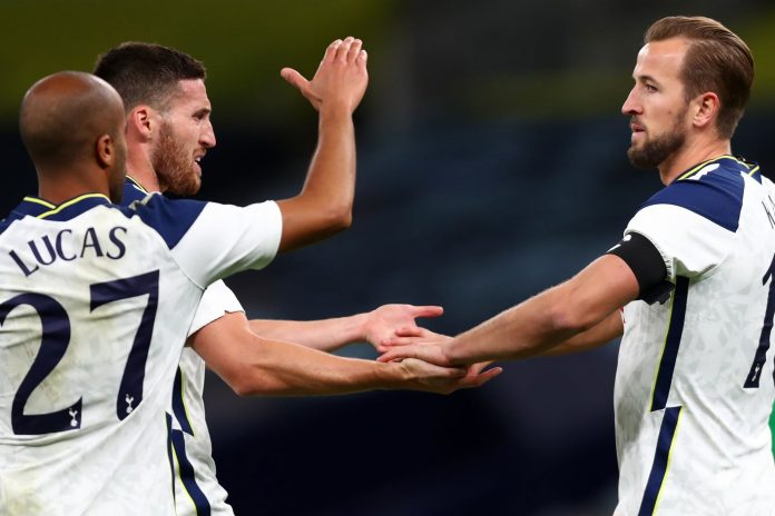 Tottenham have qualified for the Europa League group stage with Harry Kane scoring a hat-trick of 7-2m Kabi Haifa route