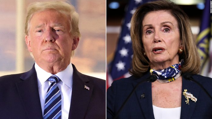 Trump's 1. 1.88 trillion stimulus proposal will face opposition from Pelosi and Senate GOP