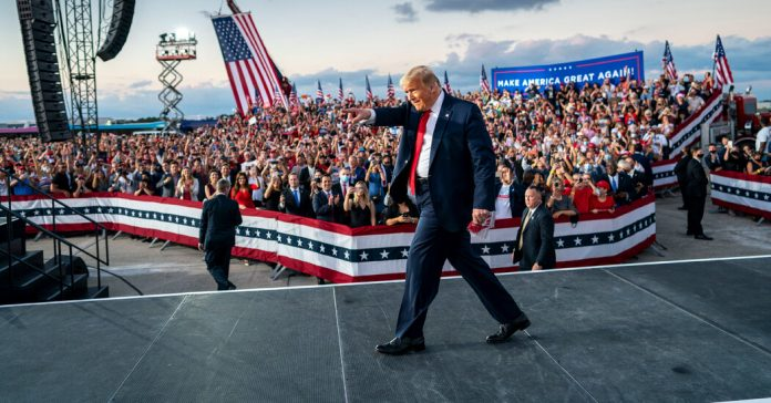 Voting and vitality in mind, Trump address in Florida