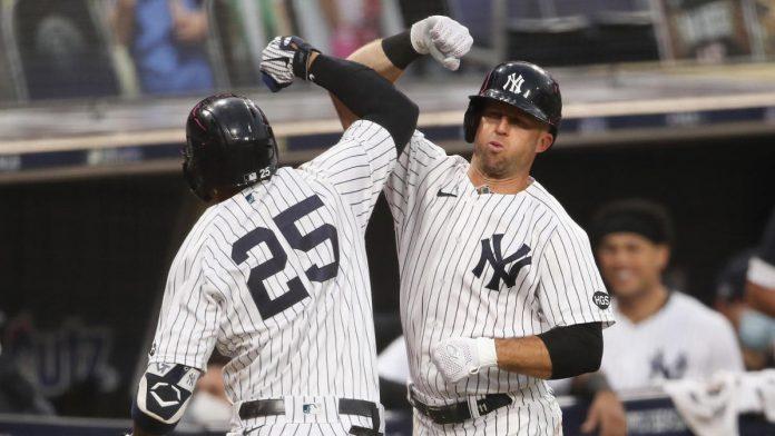 Yankees Vs.  Ray Score: Gleber Torres and Luke Watt Homer, New York's weapons deliver ALDS Game 5 to push.