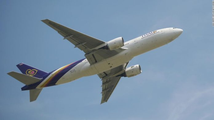 'Nowhere Flight' was unveiled by Thai Airways for religious worshipers