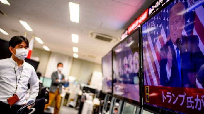 U.S. election results capture investors as a 'blue wave' trade revelation