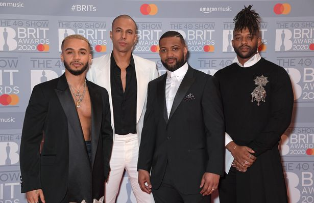 JLS members Aston Marigold, Marvin Hume, JB Gill and Oritus Williams were due to rejoin this year, but it was postponed due to a coronavirus epidemic.