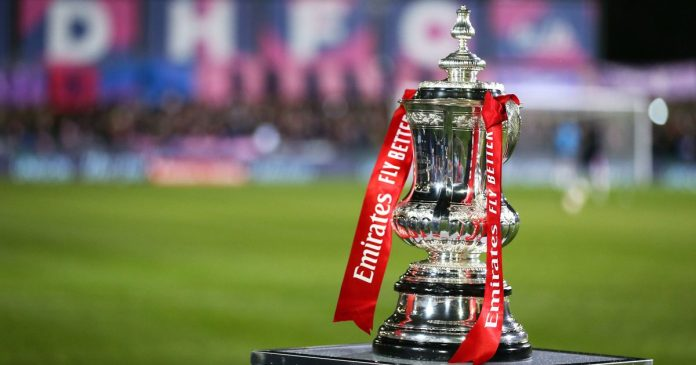 The FA Cup second round fixture has been confirmed as Wembley continue on its way