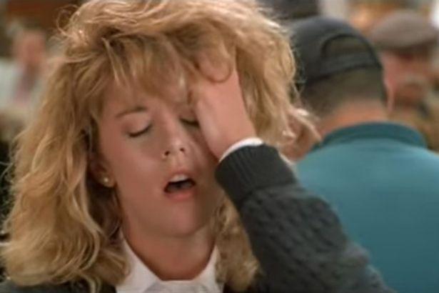 """Meg Ryan's infamous dinner scene """"When Harry met Sally"""""""