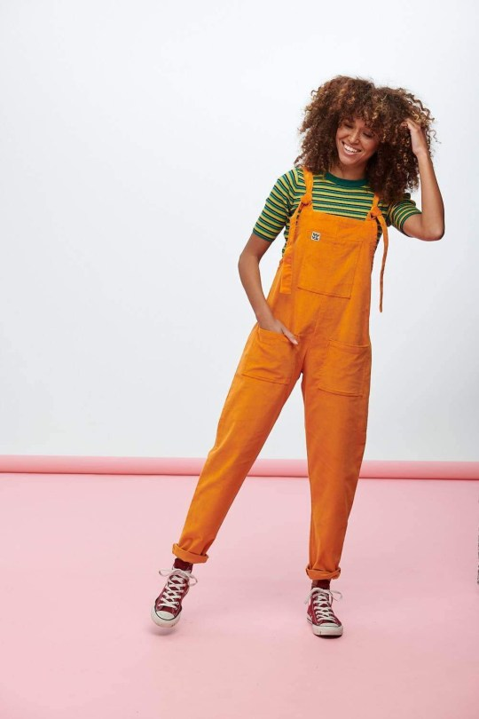 The woman became the model for the gender neutral orange hill of Lucy and Yak.