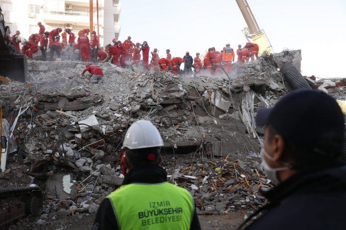 A 70-year-old man has been pulled alive as the death toll from an earthquake in Turkey has reached 53