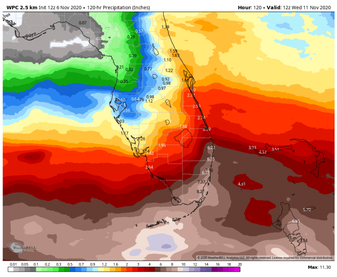And the tropical storm to regain strength and dog Cuba, Florida