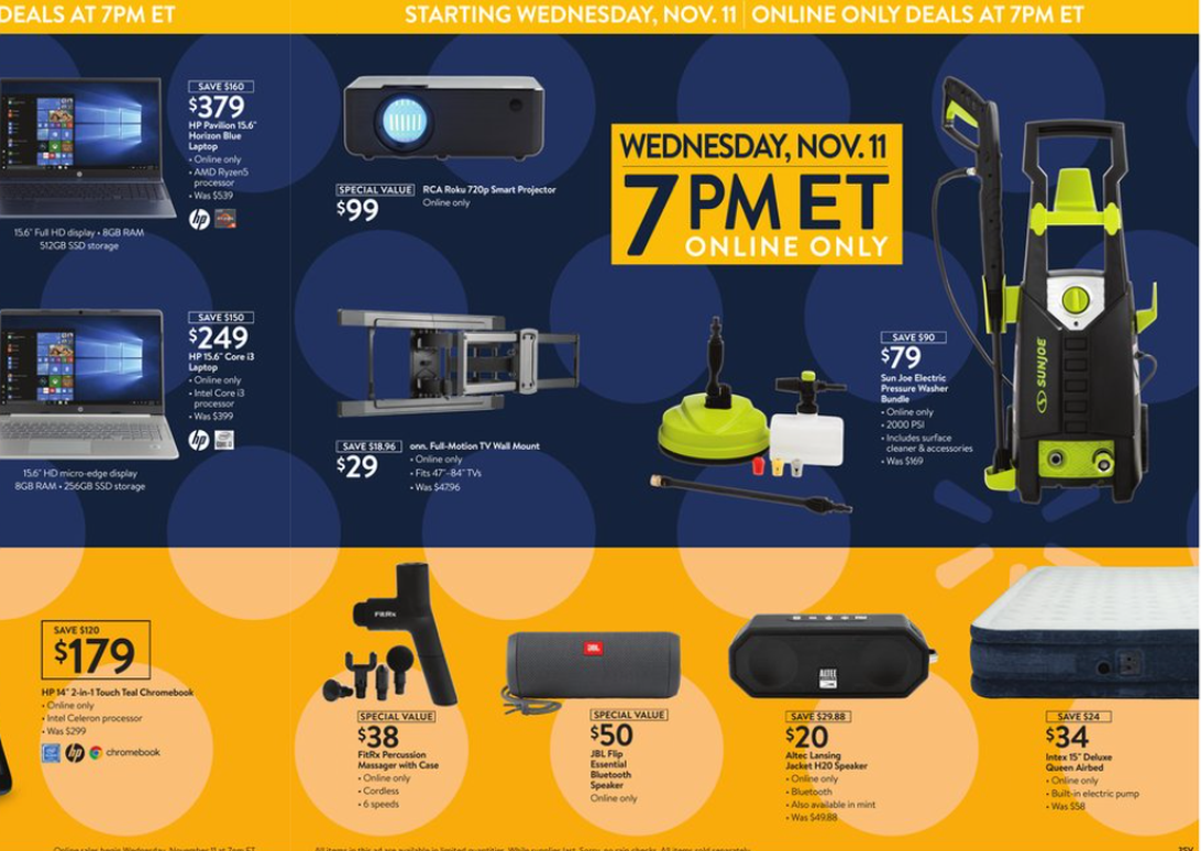 Black Friday 2020 Ad Scan See The Best Deals And Sales At Walmart Best Buy Game Stop And More