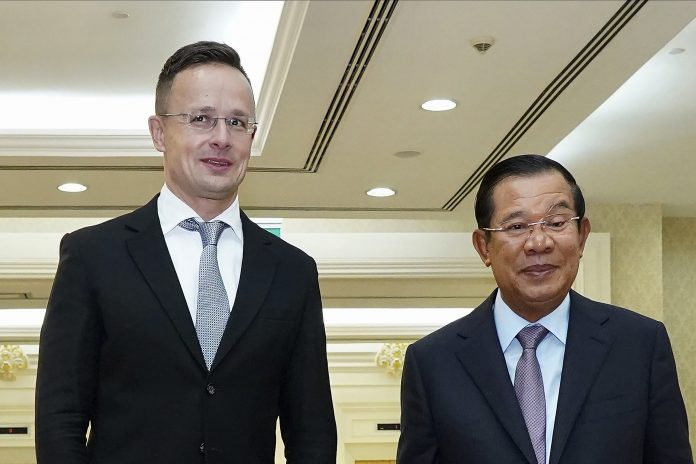 Cambodian Prime Minister in quarantine after Hungarian meeting