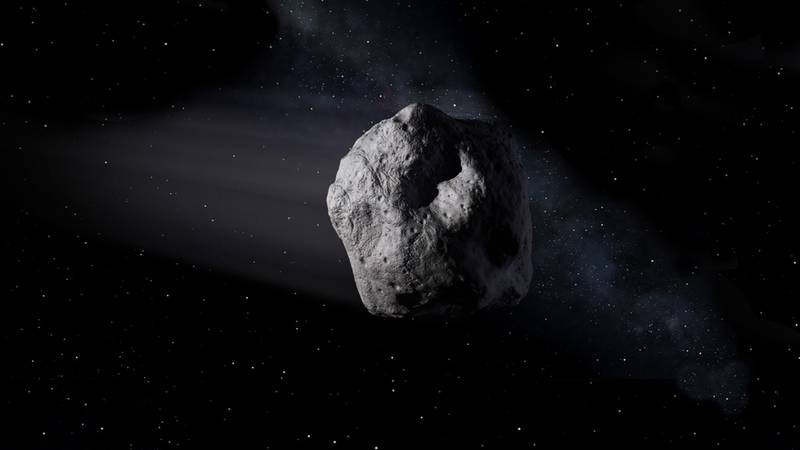 An asteroid named after God of Chaos Gains as it could succeed on Earth in 2068