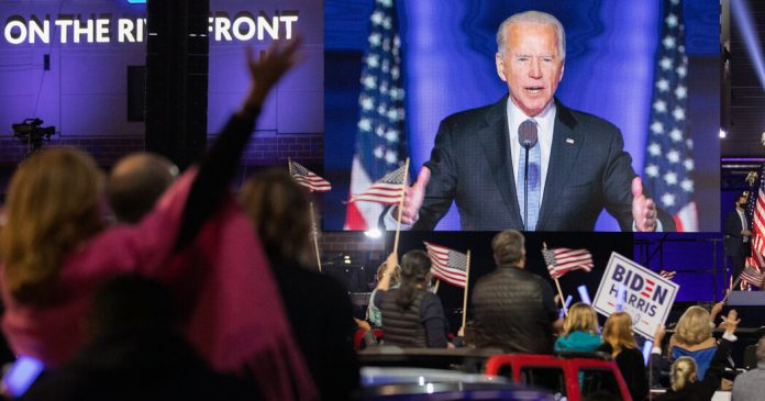 Five takeovers from President-elect Biden's victory speech