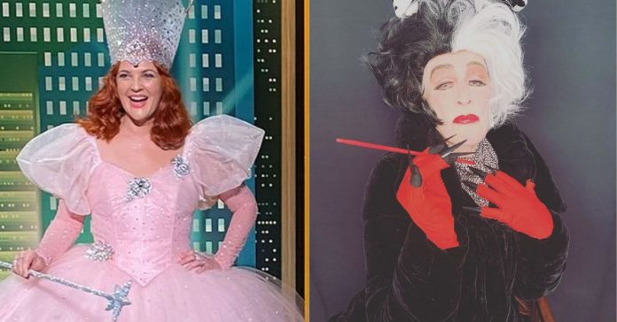 From Drew Barrymore to Glenn Klose, Hollywood's Best Halloween Costumes of 2020