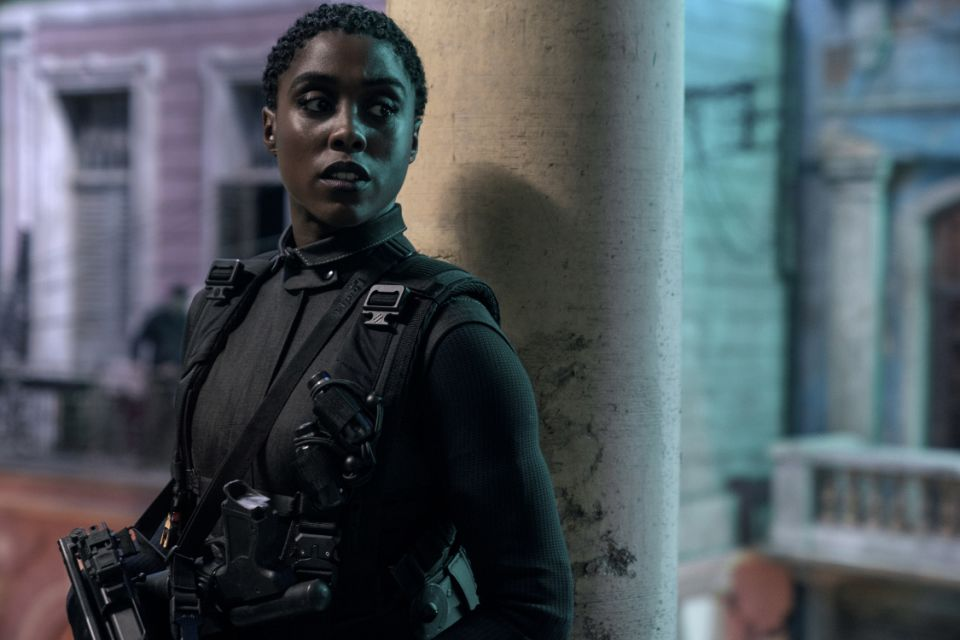 Lashna Lynch as the new 007 as Numi in 'No Time to Die' (Photo: Nikola Dove / Danzak and MGM)