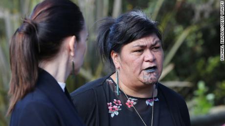 Maurya Development Minister Nania Mahuta during a visit to the Pua New Zealand Maori Arts and Crafts Institute on 19 May 2020 in Rotorua, New Zealand.