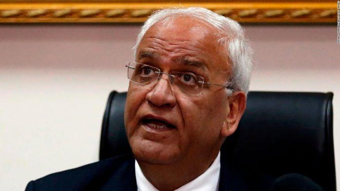 Palestinian negotiator Saeb Erekat dies at 65