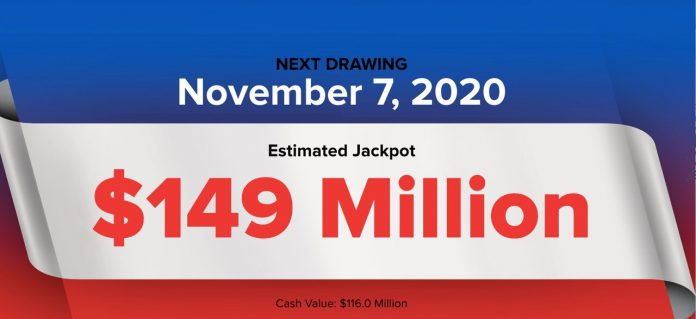 PowerBall Ball Lottery: Did you win Saturday's 9149M PowerBall Ball drawing?  Winning numbers, live results (11/7/2020)