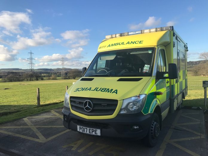 Review of the launch of the Northwest Ambulance Service on the 'big event'