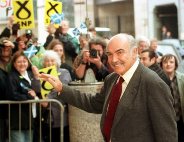 Sir Sean Connery: Advocate for independence who was Scotland's ambassador to the world stage