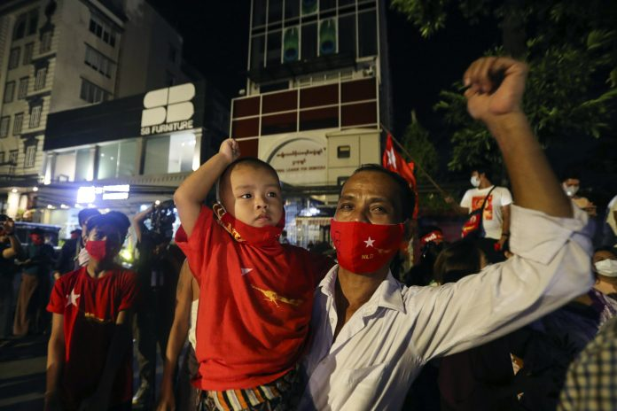 Suu Kyi's party has claimed responsibility for the by-elections in Myanmar