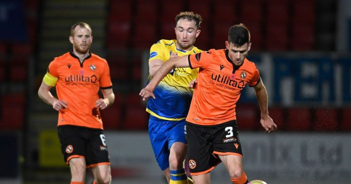 The progress of the Batfred Cup is in the hands of St. Johnstone despite the shoot-out defeat