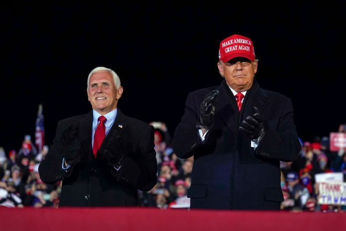 Where's Mike Pence?  The VP has gone missing after the Trump administration denied the election loss