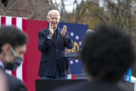 United States, Joe Biden first dose of vaccine