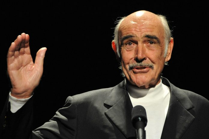 Sean Connery's ashes are scattered around Scotland