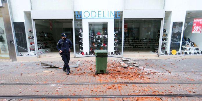 Croatia earthquake of 6.4 magnitude