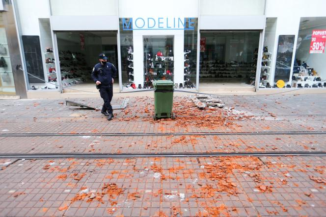 The earthquake was particularly felt in the Croatian capital Zagreb on 29 December.