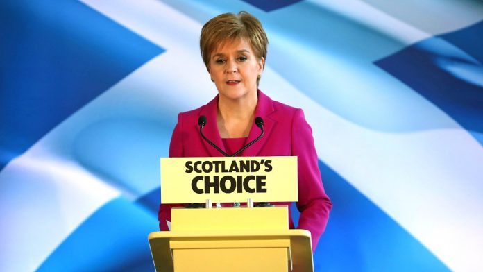 First step: Independence: Scottish Government wants to return to EU