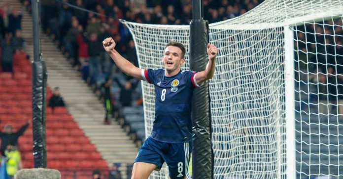 Football, European Championship qualification, Scotland fans also celebrate in Germany
