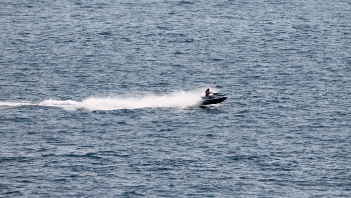 Scotland - Imprisonment: He ends up in jail after a jet-ski trip to join his fiancée