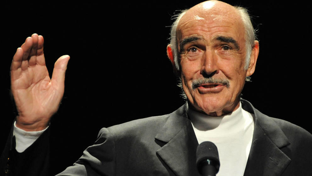 Sean Connery, here in 2008.