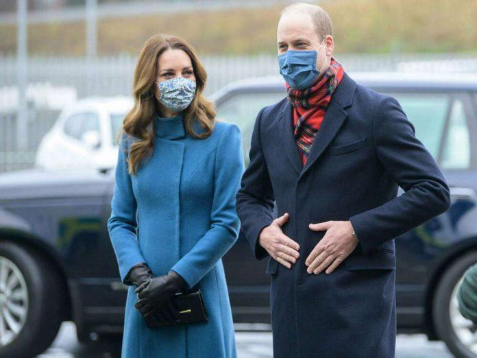 Stop in Scotland: Duchess Kate's blue coat is an eye-catcher - entertainment