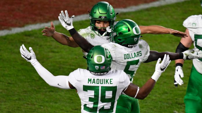 USC Vs.  Oregon Score, Takeaways: Duck No. 13 to claim second straight Pack-12 title by beating Trojans