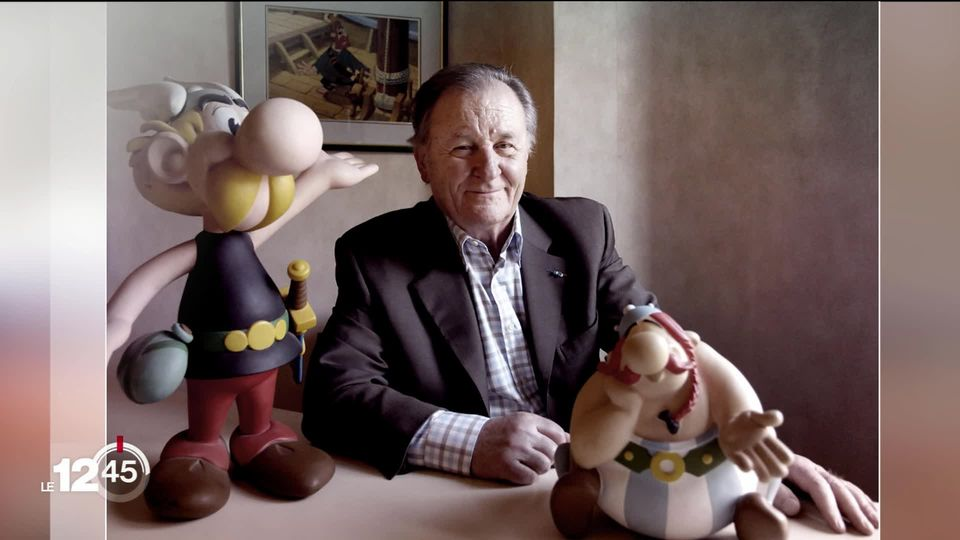 Asterix designer Albert Udero died of a heart attack at the age of 92. [RTS]