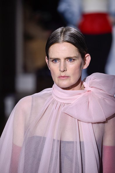 Stella Tennant, January 22, 2020 in Paris, France.  |  Photo: Getty Image