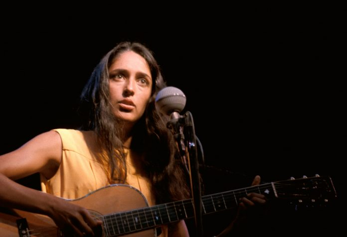 Zone Badge: Queen of folk and pacifist icon turns 80