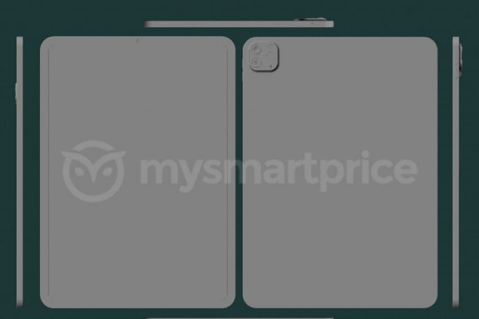 2021 iPad Pro CAD model allegedly leaked by MySmartPrice