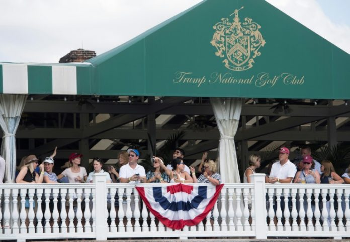 Worried about his image, Golf sends Trump back to his clubs