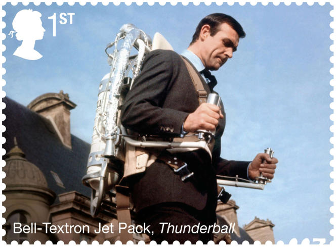 Stamp issued in Great Britain in 2020 (https://shop.royalmail.com/special-stamp-issues/james-bond).