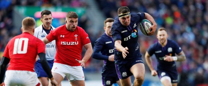 6 Nations Tournament (D5): Scotland win Wales and temporarily finish second