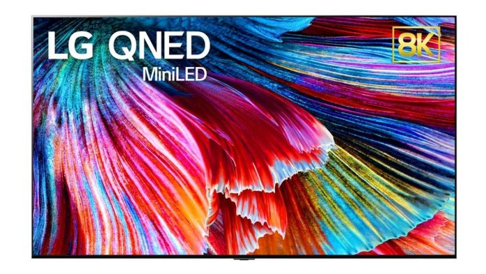CES 2021 - LG Unveils QNED 8K and 4K LCD TV with Mini-LED Backlighting System