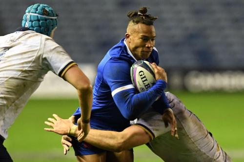France's first win in Scotland in 6 years