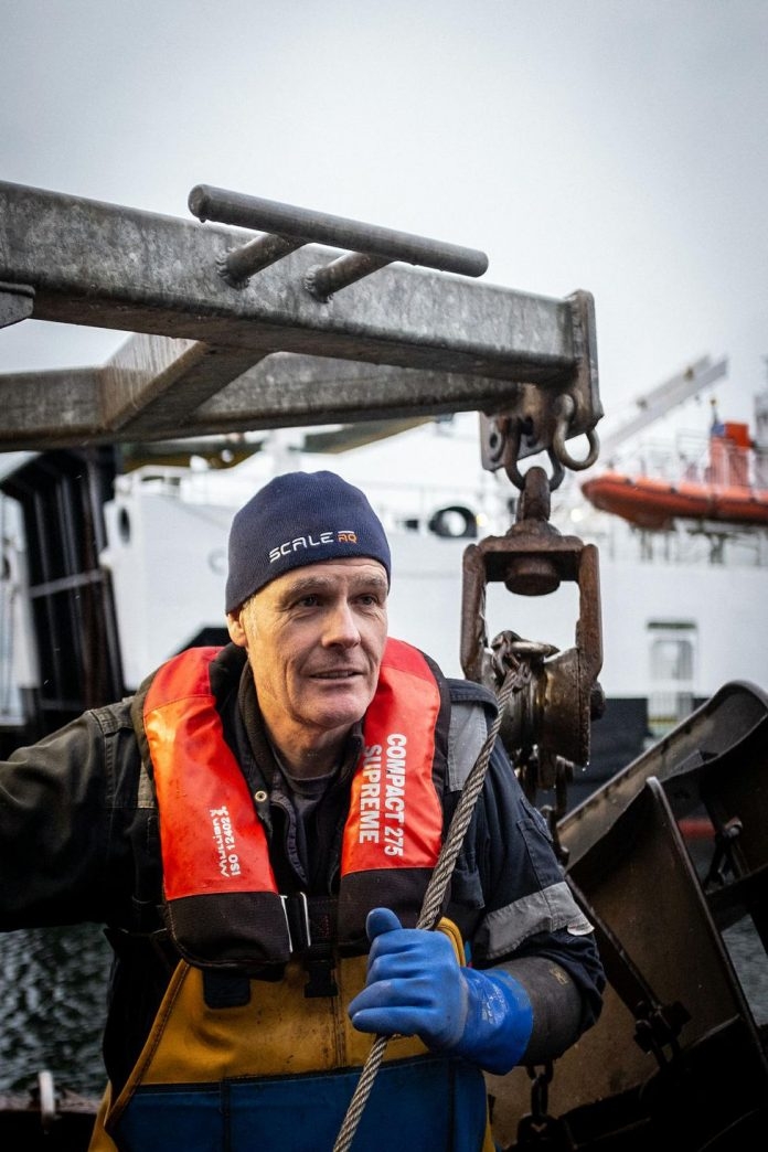 In Scotland, fishermen are deprived of seafood