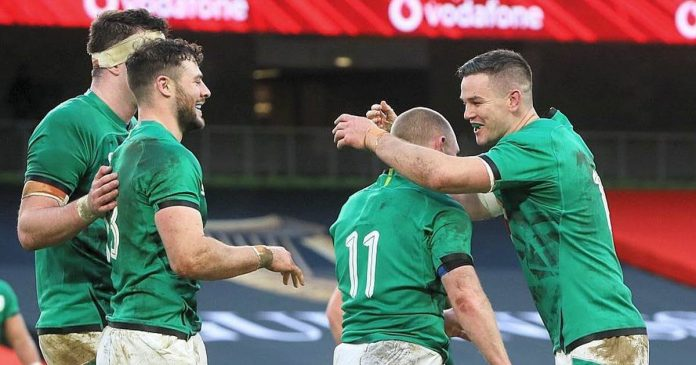 Ireland dominates Scotland and is in third place